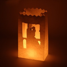 Bride and Groom Paper Luminary