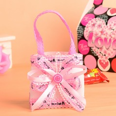 Classic Handbag shaped Favor Bags With Ribbons