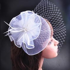 Vintage Net Yarn/Velvet Fascinators