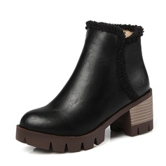 Women's Chunky Heel Boots shoes