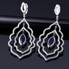 Beautiful Rhinestones/Zircon Ladies' Earrings