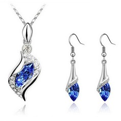 Fashional Alloy With Crystal Women's Jewelry Sets