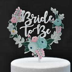 Sweet Love/Classic Acrylic Cake Topper (Sold in a single piece)