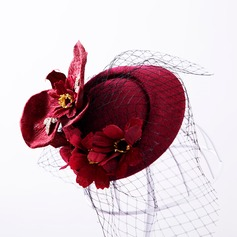 Ladies Beautiful Artificial Silk/Tulle Hats