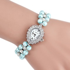 Fashional Alloy Pearl Ladies' Watches