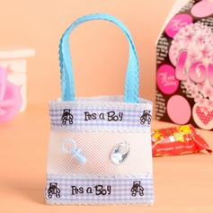 """Sweet Love"" Handbag shaped Favor Bags With Ribbons"