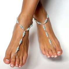Plastics Foot Jewellery (Set of 2)