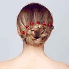 Special Crystal/Alloy Hairpins(Set of 3)