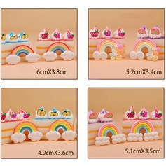 Ruantao Cake Topper (Set of 8)