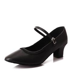 Women's Leatherette Heels Modern Jazz Dance Shoes