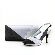 Fashional PU Shoes & Matching Bags (012070162)