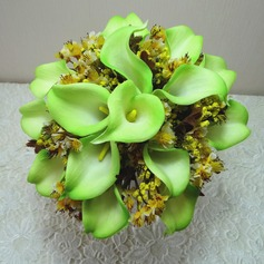 Comely Hand-tied Cloth Bridesmaid Bouquets