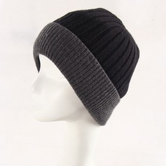 Men's Simple Wool/Polyester/Acrylic Beanie/Slouchy