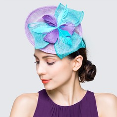 Ladies' Eye-catching Spring/Summer Cambric With Fascinators