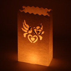 Love Bird Flame Retardant Paper Luminary
