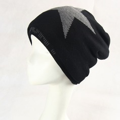 Men's Simple Polyester/Acrylic Beanie/Slouchy