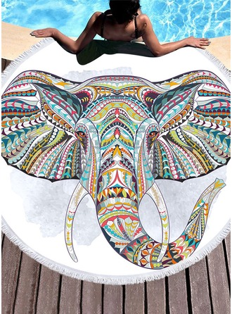 Elephant Oversized Beach towel