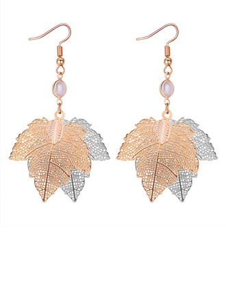 Unique Copper Women's Fashion Earrings