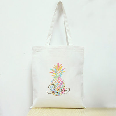 Bridesmaid Gifts - Personalized Beautiful Cotton Tote Bag