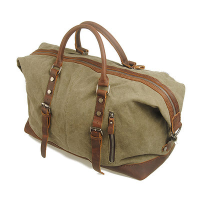 Groomsmen Gifts - Classic Canvas Duffle Bag