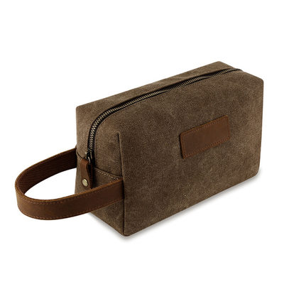 Groomsmen Gifts - Elegant Canvas Dopp Kit Bag