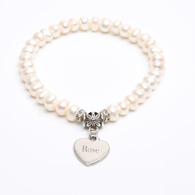 Bridesmaid Gifts - Personalized Beautiful Classic Alloy Imitation Pearls Bracelet