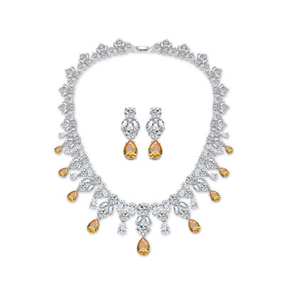 Bride Gifts - Beautiful Zircon Jewelry Set