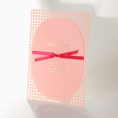 Personalized Classic Style/Modern Style Flat Card Invitation Cards