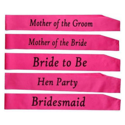 Bridesmaid Gifts - Elegant Satin Sash (Sold in a single piece)