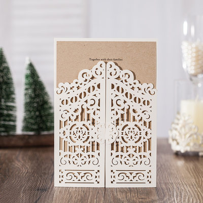 Personalized Classic Style/Modern Style Double Gate-Fold Invitation Cards/Birthday Cards/Response Cards/Thank You Cards/Greeting Cards