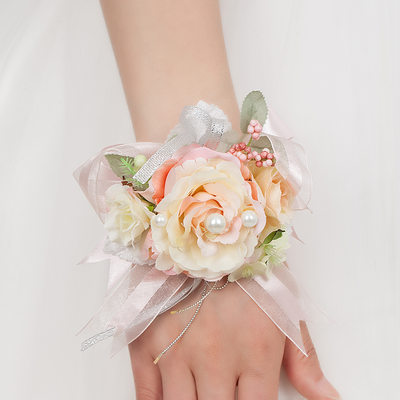 Bridesmaid Gifts - Classic Vintage Wrist Corsage