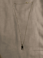 Custom 18k Gold Plated Name Necklace - (288254486)