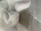 One-tier Cut Edge Chapel Bridal Veils With Faux Pearl (006221243)