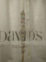 Nice Satin Sash With Rhinestones (015228447)