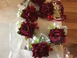 Hand-tied Artificial Flower Flower Sets (set of 2) - Wrist Corsage/Boutonniere (123197557)