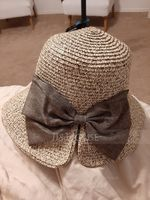 Ladies' Fashion Rattan Straw With Bowknot Floppy Hat/Beach/Sun Hats (196123860)