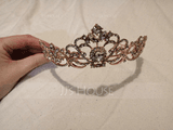 Ladies Amazing Rhinestone/Alloy/Imitation Pearls Tiaras With Rhinestone (Sold in single piece) (042172296)