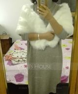 Faux Fur Wedding Wrap (013137433)