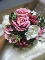Gorgeous Round Artificial Flower Bridal Bouquets (Sold in a single piece) - (123219631)