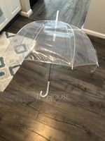 Simple/Elegant Bride And Groom Plastic/Stainless Steel/PVC Wedding Umbrellas (Sold in a single piece) (051251061)