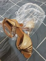 Women's Sparkling Glitter Heels Latin Dance Shoes (274218719)