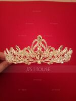 Ladies Beautiful Alloy Tiaras (Sold in single piece) (042203832)