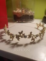 Ladies Exquisite Alloy Tiaras With Crystal (042156473)