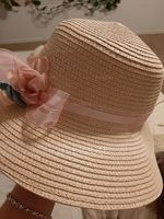 Ladies' Special/Elegant/Simple Raffia Straw With Flower Straw Hats/Tea Party Hats (196166141)
