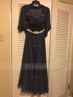 A-Line/Princess Sweetheart Ankle-Length Chiffon Mother of the Bride Dress With Ruffle (008062538)