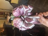 Free-Form Bridal Bouquets/Bridesmaid Bouquets - (123198751)
