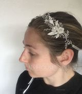 Ladies Gorgeous Alloy Headbands With Rhinestone/Crystal (Sold in single piece) (042192987)