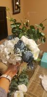 Blooming Free-Form Silk/Cloth Bridesmaid Bouquets - (123201754)