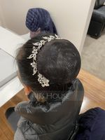 Ladies Beautiful Rhinestone/Alloy Combs & Barrettes (042123828)
