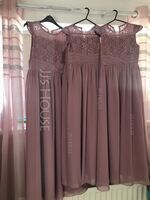 Scoop Neck Floor-Length Chiffon Lace Junior Bridesmaid Dress With Ruffle (268252007)